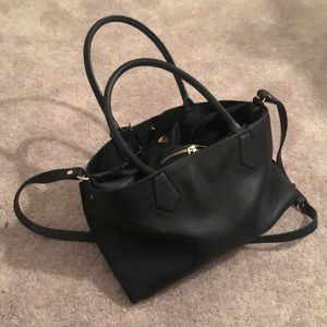 New Black Zara purse